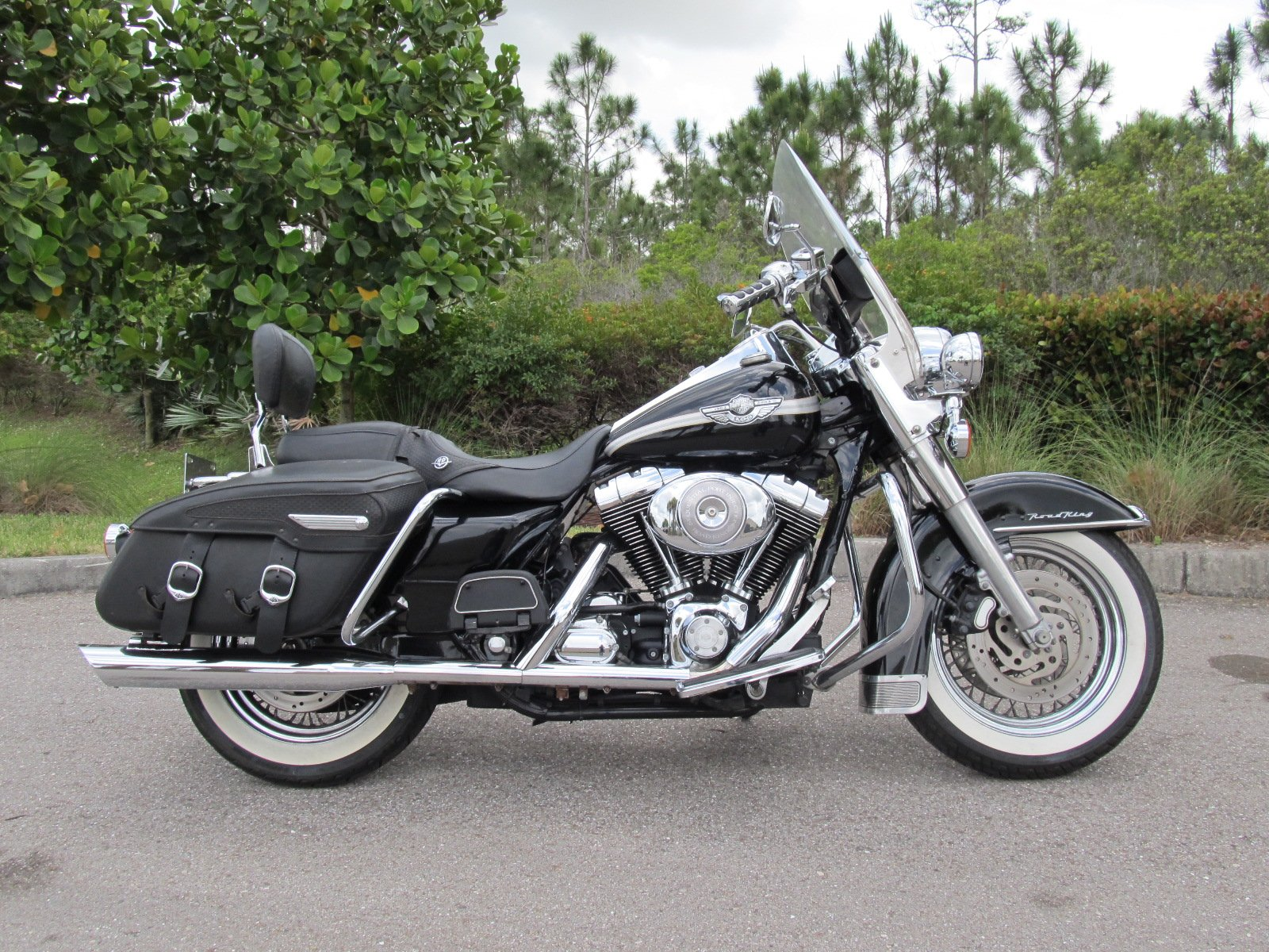 Pre-Owned 2003 Harley-Davidson Road King FLHRCI