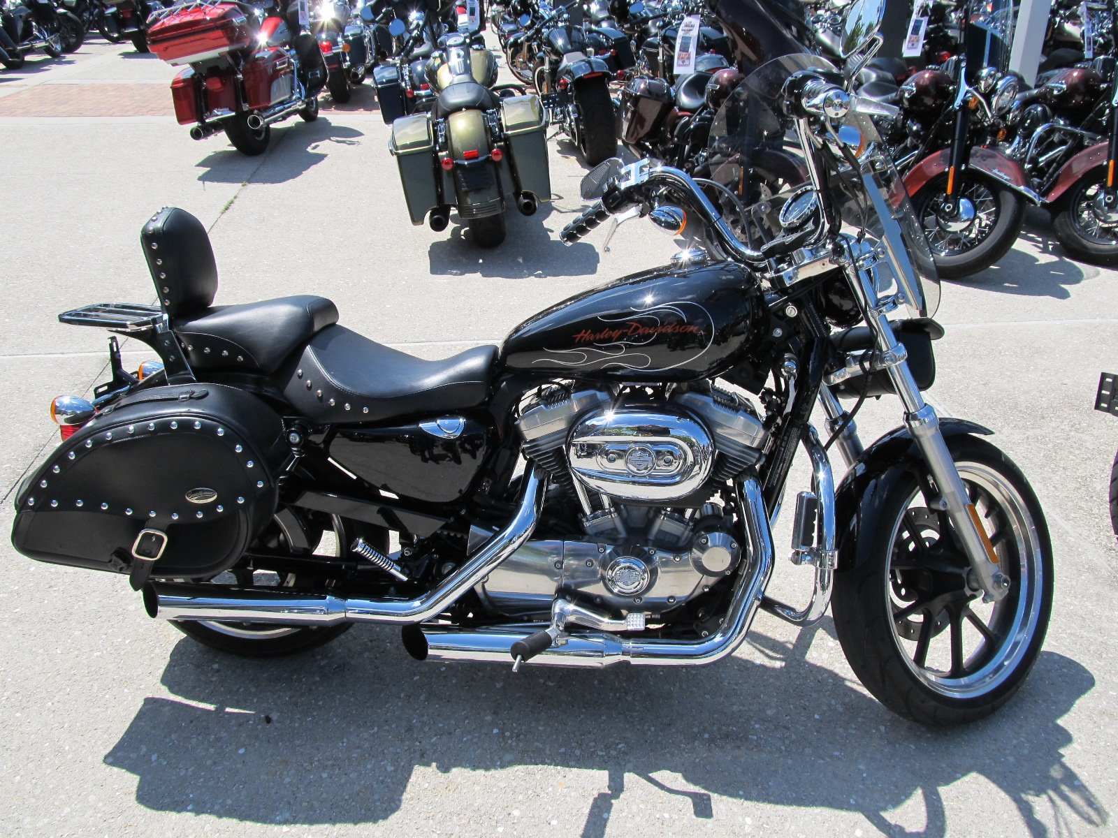 Pre-Owned 2011 Harley-Davidson Sportster 883 Superlow XL883L