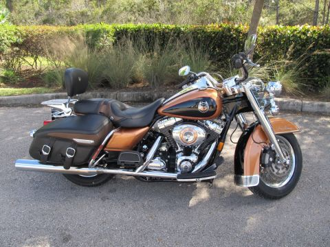 Pre-Owned 2008 Harley-Davidson Road King Classic 105th Anniversary FLHRC