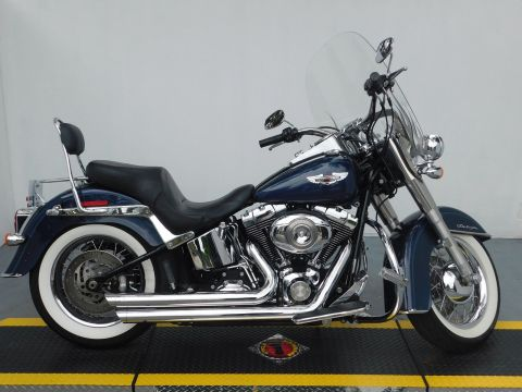 Pre-Owned 2008 Harley-Davidson Softail Deluxe FLSTN