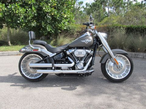 Pre-Owned 2019 Harley-Davidson Softail Fat Boy 114 FLFBS