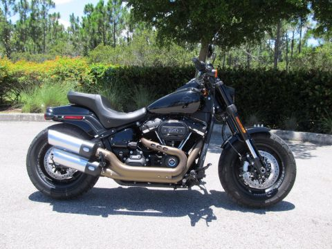 Pre-Owned 2019 Harley-Davidson Softail Fat Bob FXFBS